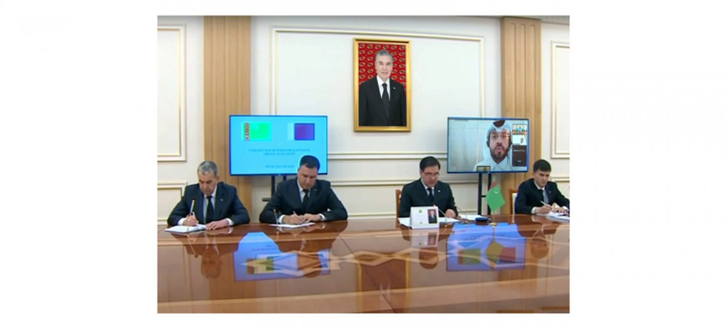 MEETING OF THE REPRESENTATIVES OF THE CHAMBERS OF COMMERCE AND INDUSTRY OF TURKMENISTAN AND THE STATE OF QATAR