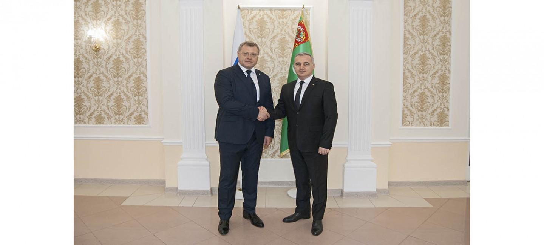 Обсуждены приоритеты взаимодействия между Туркменистаном и Астраханской областью России