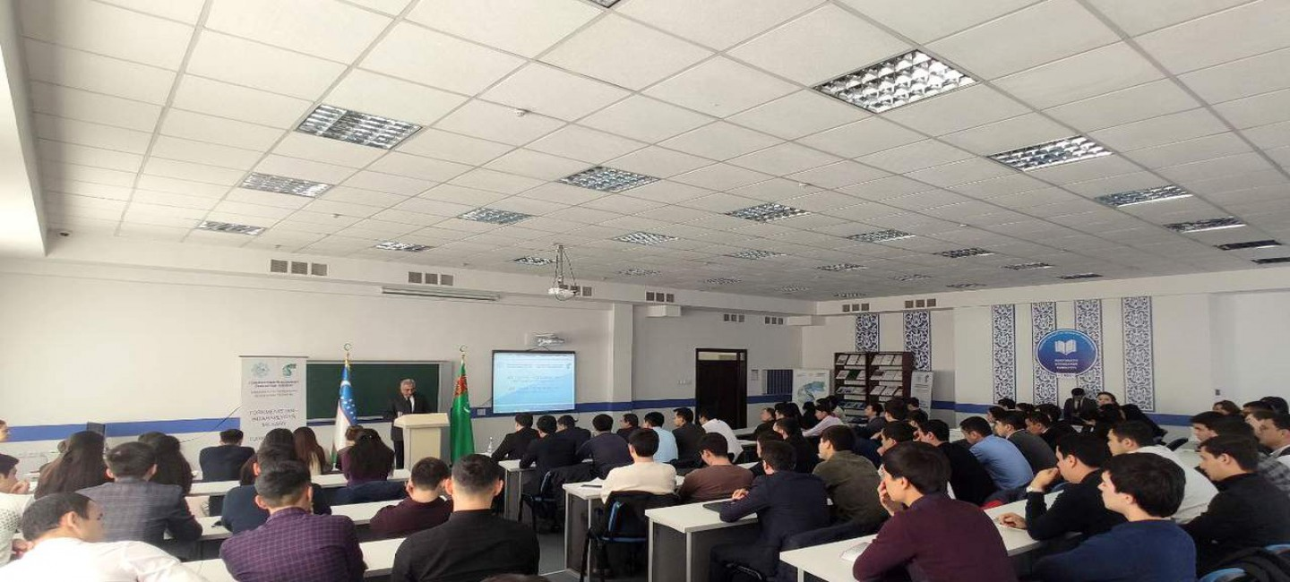 Embassy of Turkmenistan in Uzbekistan organized a lecture on the 25th anniversary of the Permanent Neutrality of Turkmenistan