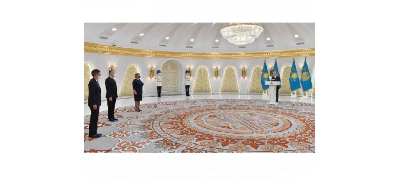 ПОСОЛ ТУРКМЕНИСТАНА В РЕСПУБЛИКЕ КАЗАХСТАН ВРУЧИЛ ВЕРИТЕЛЬНЫЕ ГРАМОТЫ
